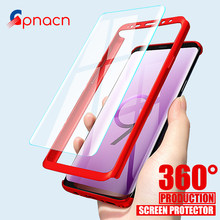 GPNACN Luxury 360 Degree Full Cover Phone Case For Samsung Galaxy S9 S8 Plus  Shockproof Cover For Samsung Note 8 9 S7 Edge Case 28dd3c3b9f45