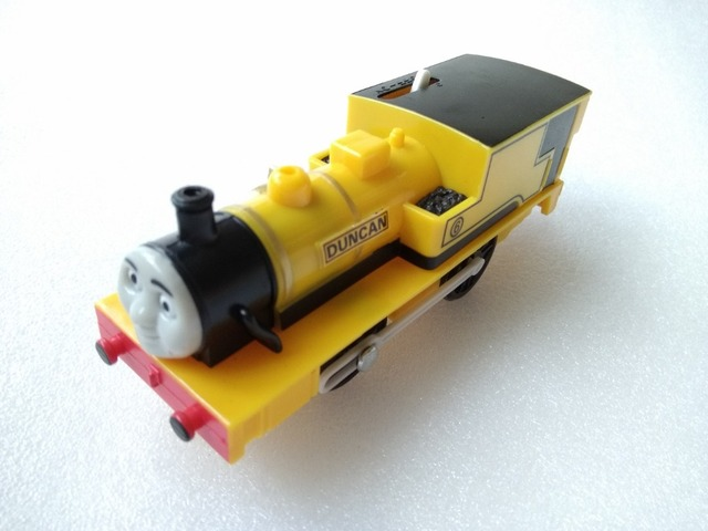 Electric Thomas and friend dunca Trackmaster engine Motorized train Chinldren child kids plastic toys gift