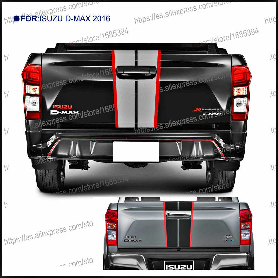Detail feedback questions about 1pc back door handle insert rear door graphic vinyl car sticker for isuzu dmax 2016 beast pickup accessories decal on