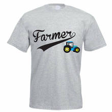 T Shirt Design Website Short Sleeve Fashion 2018 Crew Neck Mens Tractor Agriculture  Tee Shirts