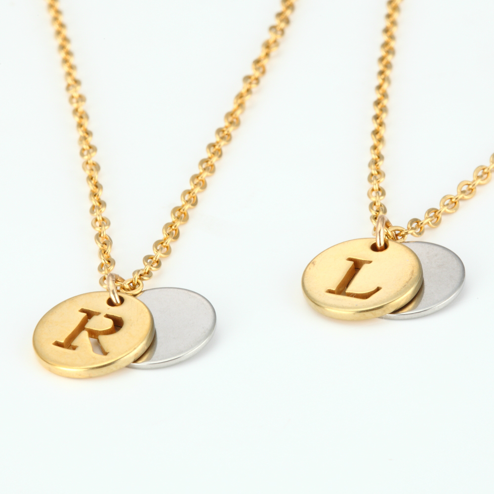 Letter Personalized Name Jewelry Gold