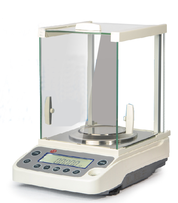 220g*0.0001g High Accuracy Lab Analytical Balance Temperature compensation Balance Scale USB 220V