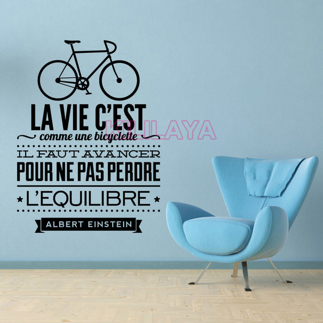Online Shop Creativo Viny Wall Sticker Quote Inspiring Frase ...