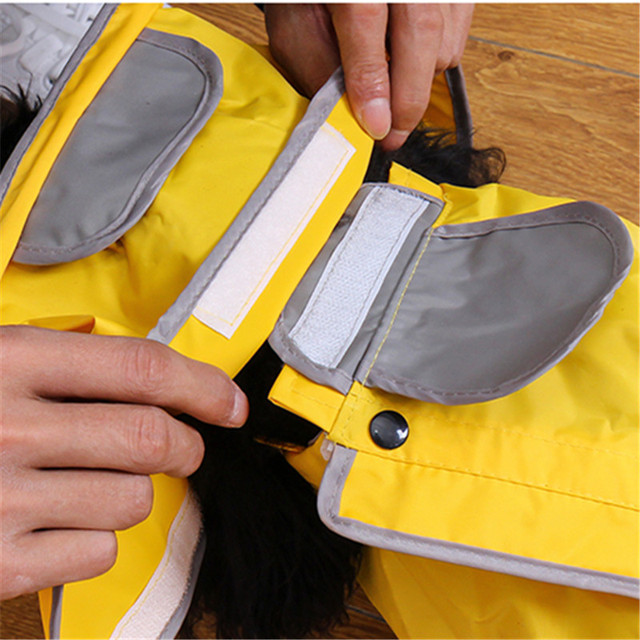 Waterproof Dog Raincoat Jacket With All Sizes