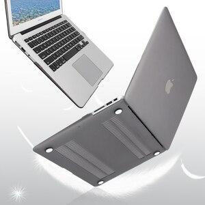 Image 3 - Чехол для MacBook Air 13 11 pro retina 12 15, жесткий матовый прозрачный чехол с сенсорной панелью
