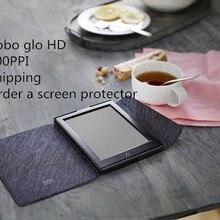 Устройства для чтения электронных книг KoBo glo HD 300PPI электронная книга сенсорный чернила электронный сенсорный экран HD 1448x1072 6 дюймов дорожная сумка для чтения