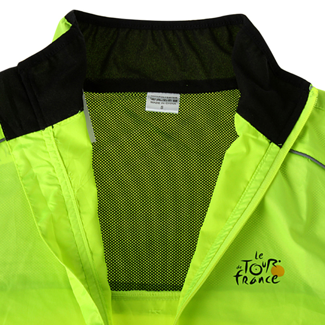 Reflective Breathable Long Sleeve Cycling Quick Dry Windproof Jacket