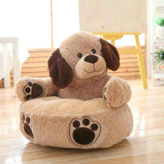 New 45cm Kawaii Bear Amp Dog Plush Baby Seat Support Seat