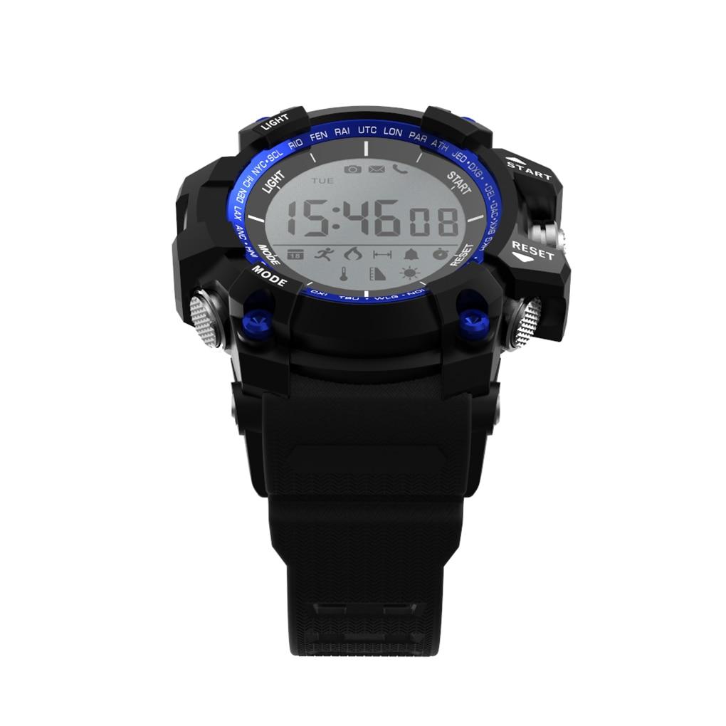 NEW Bluetooth Smart Watch Waterproof F2 Smartwatch Sleep Altitude Pressure Temperature Ultraviolet UV Pedometer Smart Watch