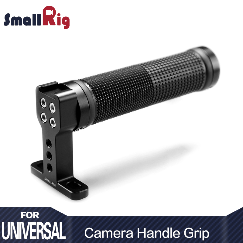 SmallRig Camera Handle Grip Rubber with Top Cold Shoe Base for Dslr Video Camera Camcorder Action Stabilizing Top Handle - 1447