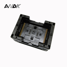 TSOP48 Standard Burn in Socket Pitch 0.5mm IC Test Socket IC Size 12x18.4mm IC354-048-D31/35P Programmer Adapter ssop24 ic test socket ots 28 0 65 01 tssop24 sop24 burn in socket programmer adapter conversion block connector