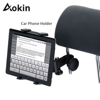 Aokin Car Phone Holder Universal 360 Rotating Back Seat Headrest Mount Holder For IPad 2 3
