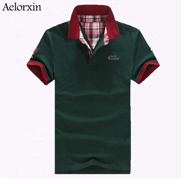 High Quality Brand Men's Polo Shirt For Men Design Polos Men Cotton Short Sleeve shirt jerseys M-5XL