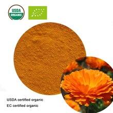 USDA и EC Сертифицированные Органические экстрат календулы 20:1