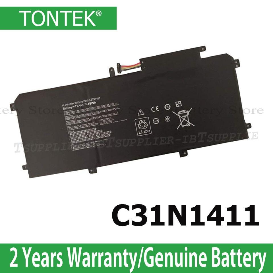C31N1411 Laptop Battery For ASUS Zenbook UX305 UX305L UX305F UX305C UX305CA UX305FA U305F U305FA U305L 11.4V 45WH