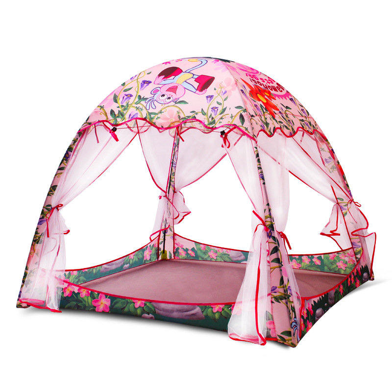 Baby Kids Tent House Cubby Indoor Playhouse Game Childrens Tents Play House For Kids Toys For Children Teepee Hut Foldable Beach mushroom kids play hut pink blue children toy tent baby adventure game room indoor outdoor playhouse