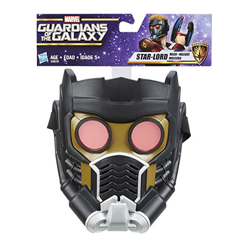 High Quality Hot Guardians of Galaxy Star-Lord Star Lord Mask Peter Jason Quill 1/1 Cosplay Helmet Action Figure Toy Play