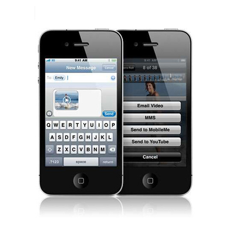 Touch to unlock iphone screen