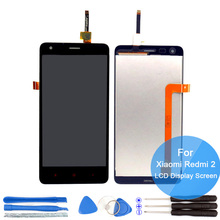 100% New For Xiaomi Redmi 2 LCD Display +Digitizer Touch Screen Assembly Replace Hongmi 2 Pro 2A Redmi2 Parts Accessory Bundles