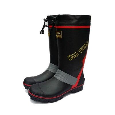Men s Boots Rain Boots Rubber Waterproof Non - Slip Fishing Shoes Rock Fishing Waders Shoes Rubber Shoes