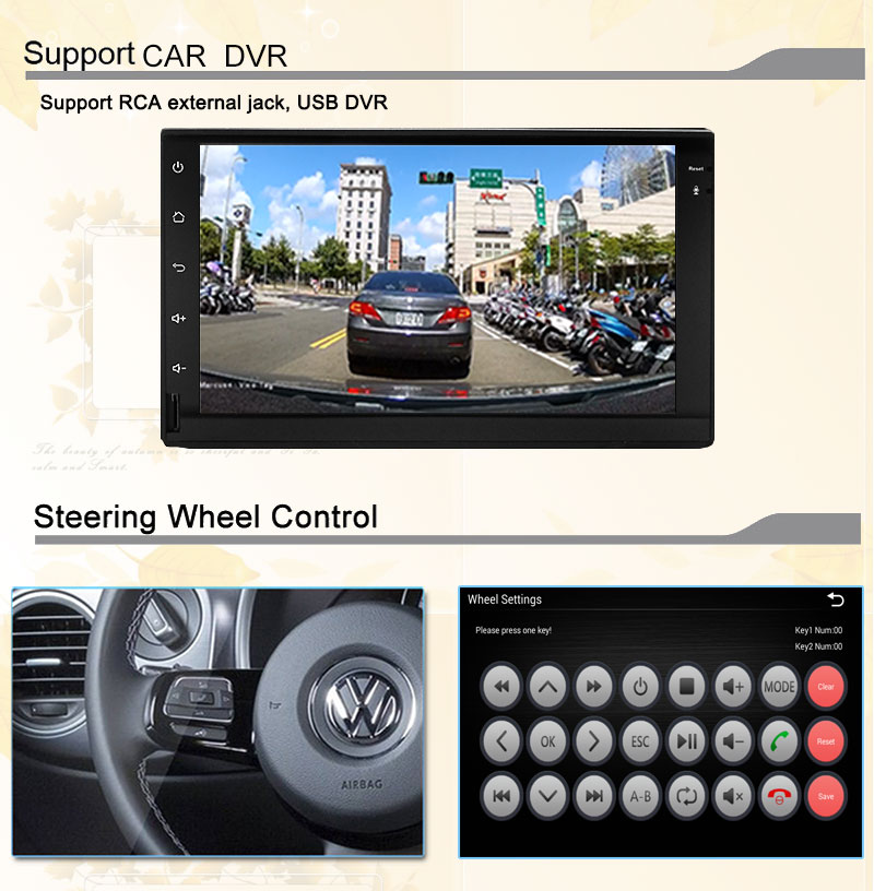 3G4G Quad core 2 din 7 inch android 5.1.1 Universal Car DVD Player juke qashqai almera x trail note X-TRAIL for Nissan GPS+2din