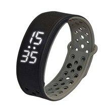 W9 Bluetooth V4.0 шаг счетчик активности на Водонепроницаемый IP67 спортивные Фитнес трекер Смарт часы браслет, черный