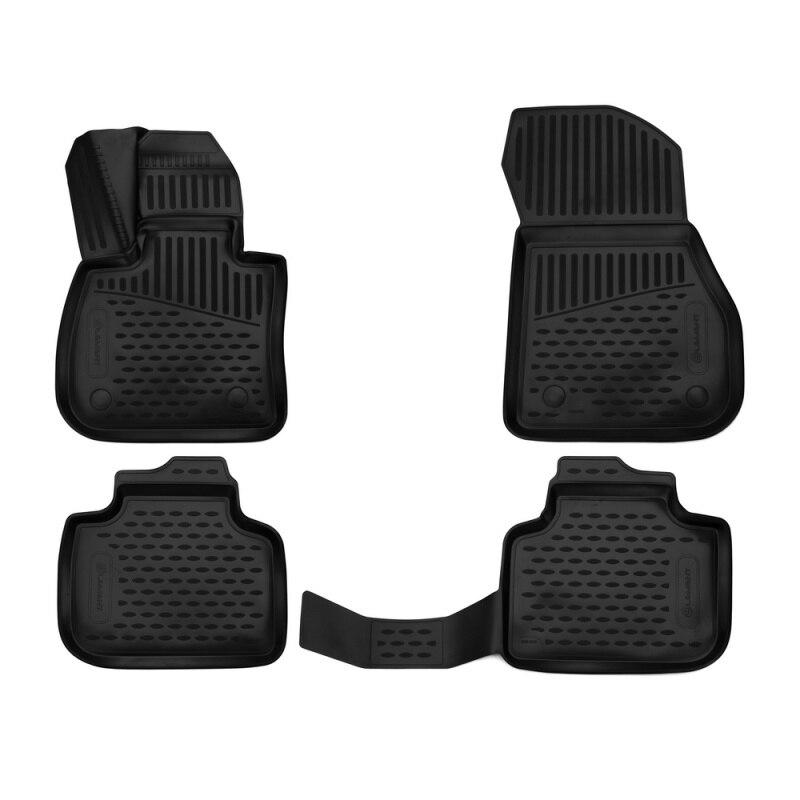 Car Mats 3D salon For BMW X1, 2015-> Second generation (F48), SUV, (Europe), 4 PCs (polyurethane) сетка в багажник 51479410838 для bmw x1 f48 2015