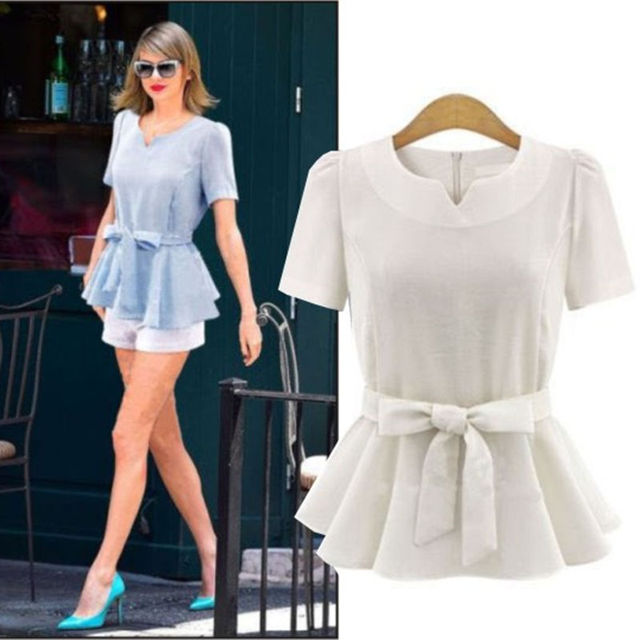 Aliexpress.com : Buy New Summer 2016 Fashion Blouses Women Work ...