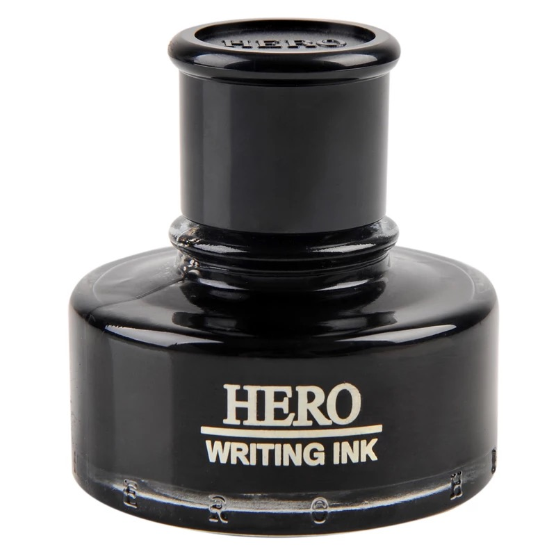 Fountain pen writing Ink bottle 50ml HERO-440 Black class ink bottle for fountain pens Free Shipping free shipping hero 234 carbon ink for fountain pens durable office supplies black red blue black