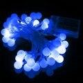 5 M Globo Terráqueo Patio 50 Led Cadena Fiesta de Navidad Luz de La Batería Con Control Remoto LED Al Aire Libre Luz de la Decoración DC4.5V