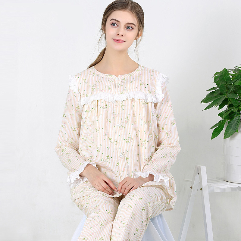 Maternity Clothes Long sleeve Breastfeeding Sleepwear Nursing Pajamas for Pregnant Women Maternity Pajamas set цена
