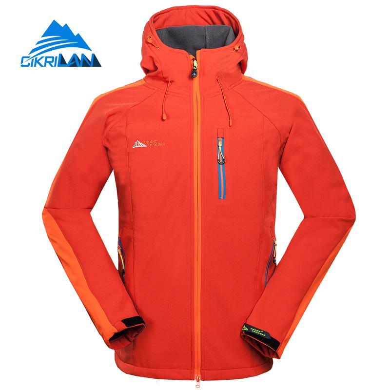 New Outdoor Camping Hiking Softshell Jacket Men Water Resistant Windbreaker Veste Homme Fishing Sports Coat Jaqueta