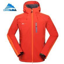 New Outdoor Camping Hiking Softshell Jacket Men Water Resistant Windbreaker Veste Homme Fishing Sports Coat Jaqueta Masculina