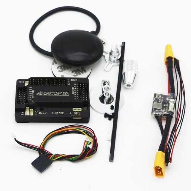1set APM 2.6 ArduPilot Mega Internal Compass APM Flight Controller w/Ublox NEO-7M GPS RC Airplane Part Dropship