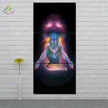 Picture And Poster Canvas Painting shiva shakti Lord Modern Wall Art Print Pop Pictures For Living Room 3 PIECES