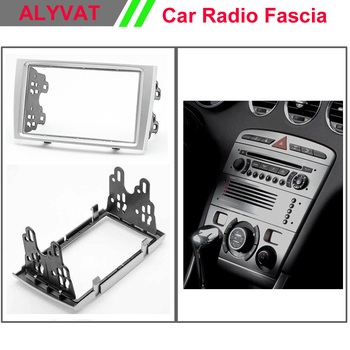 top quality car cd dvd radio stereo face facia surround trim frame for PEUGEOT 308 2007-2013, 408 2011+ 2-DIN