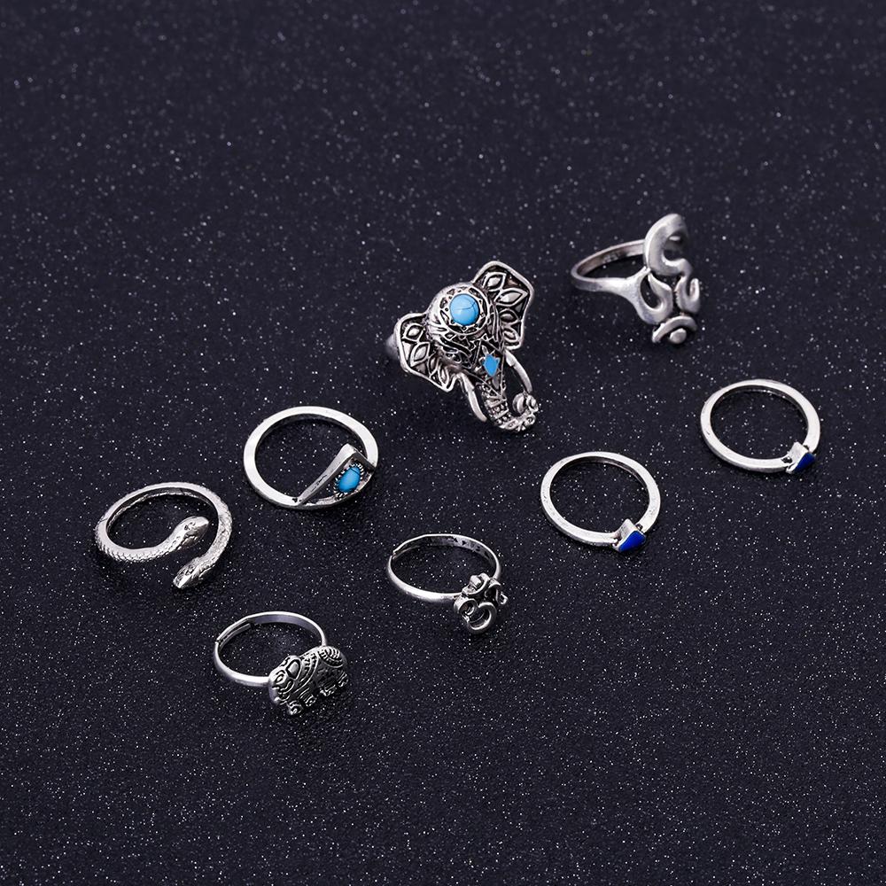 HTB11oqPRVXXXXaCXVXXq6xXFXXX4 Fashionable 8-Pieces Boho Retro Spirituality Symbols Stackable Midi Ring Set