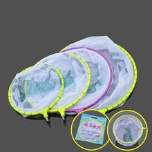 Ultralight EVA brailer Fishing Net Head Rhombus Mesh Hole Folding Nylon Landing Dip Net