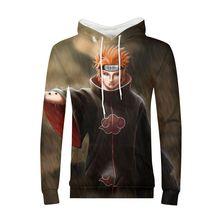 171def9306406 Anime Hombre Sudaderas Hombre MINJA Naruto Uchiha Akatsuki sudadera suéter  chándal ropa de calle Harajuku Sudadera
