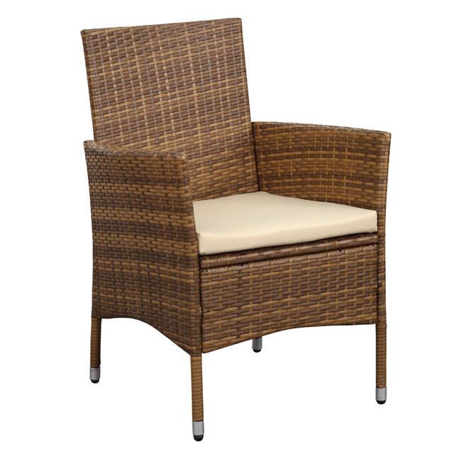 Set Giardino In Rattan.Online Shop Ikayaa Us Stock 9pcs Rattan Outdoor Dinning Table Chair