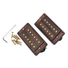Guitare électrique palissandre Humbucker cou pont 6 cordes ensemble de ramassage