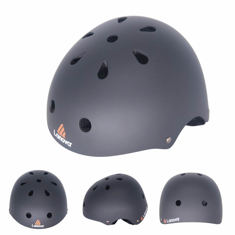 Extreme Sports Skating Helmet Bicycle BMX MTB Cycling Climbing Helmet for Scooter Roller Inline Skate Skateboard Child child bicycle helmet safety mountain road bike helmet for skating skateboard climbing mtb bmx cycling helmet orange l