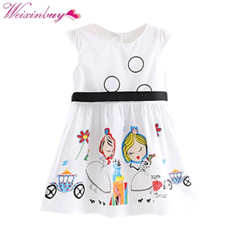 ᗑCute niños ropa niños Niñas Verano de manga corta bowknot princesa ...