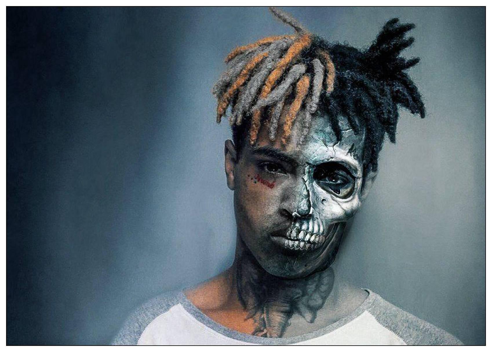 Xxxtentacion Rap Hip Hop Music Star Singer Art Poster