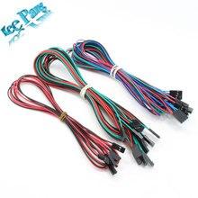 1 компл. новый 14 шт. кабели в комплекте соединительный кабель установить пандусы 1.4 концевыми выключателями термисторы двигателя dupont кабель бесплатная доставка