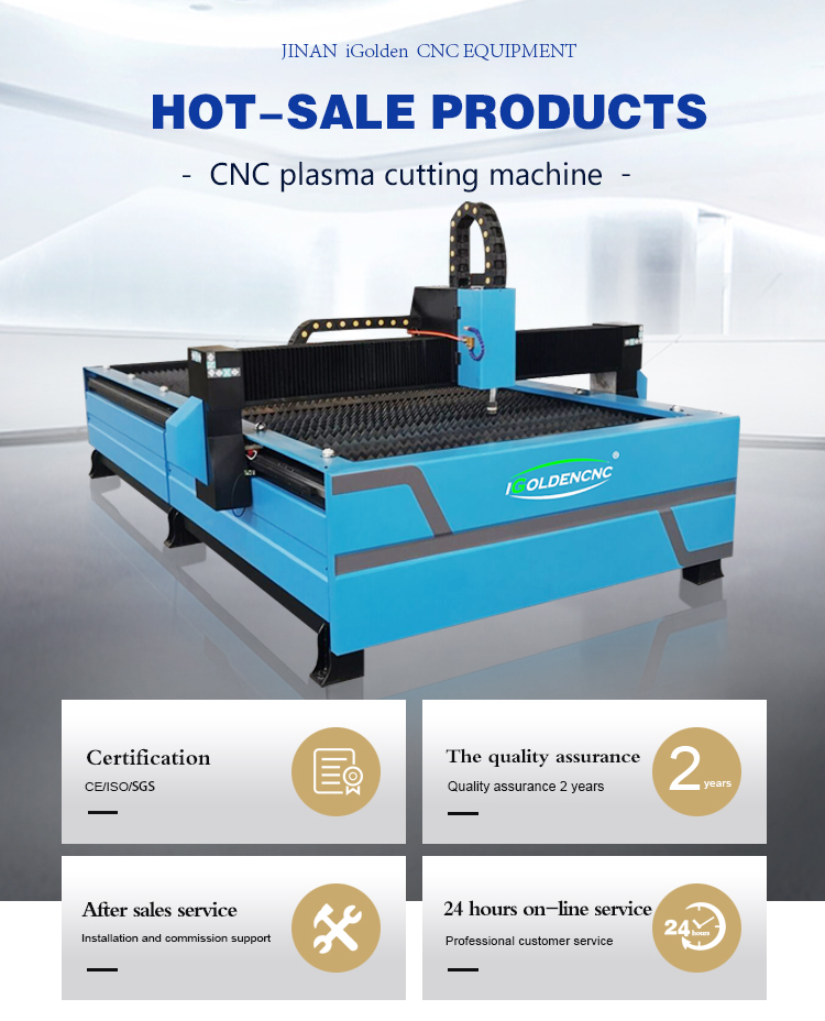 Hot Selling!!! Jinan CNC Router Machine CNC Plasma Cutters Cutting Metal Aluminum Stainless Steel Sheet 1