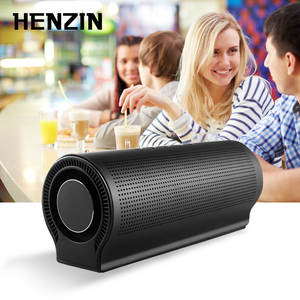 HENZIN 20W Portable Bluetooth Speaker Wireless Sound Box HIFI Stereo Column Bass Subwoofer Hands-free Loudspeakers for iPhone