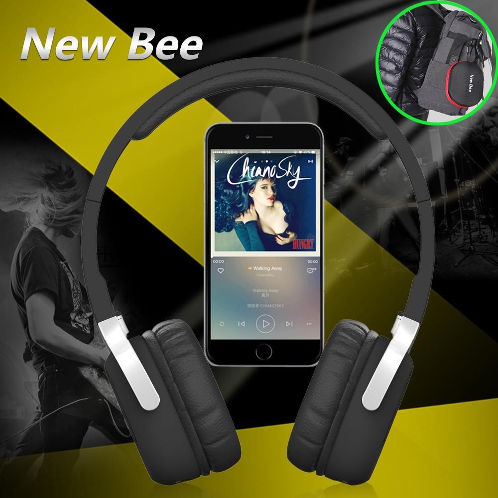 2016 New Wireless Music Headset 3.5mm Earphone Stereo Foldable casque bluetooth For iphone Xiaomi audio P10 bluetooth earphone headphone for iphone samsung xiaomi fone de ouvido qkz qg8 bluetooth headset sport wireless hifi music stereo