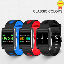 Original smart Band 4 Smart Wristband 1.0 size Color Touchscreen Swim waterproof Detect Heart Rate Sleep monitor smartwatches