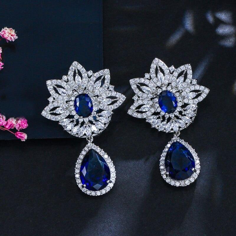 BeaQueen Luxury Brand Palace Design Կանացի բյուրեղյա - Նորաձև զարդեր - Լուսանկար 4